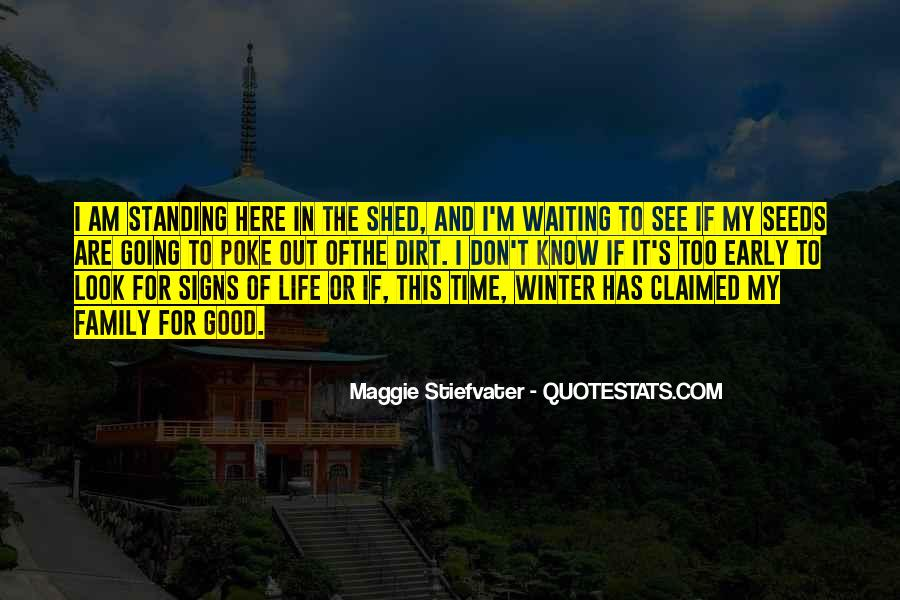 Quotes About Early Winter #946772