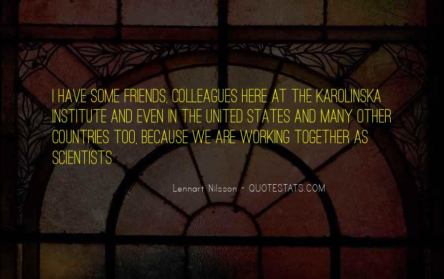 Quotes About Colleagues As Friends #283969