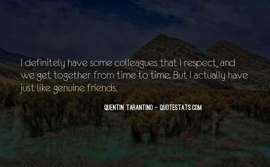 Quotes About Colleagues As Friends #30590