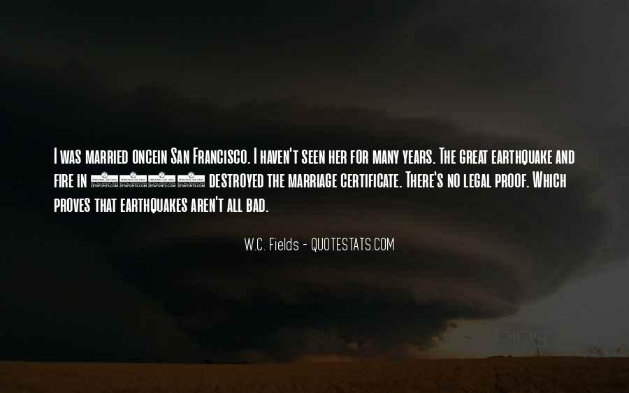 Quotes About The San Francisco Earthquake Of 1906 #1128230