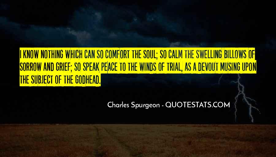 Quotes About Comfort And Peace #1065482