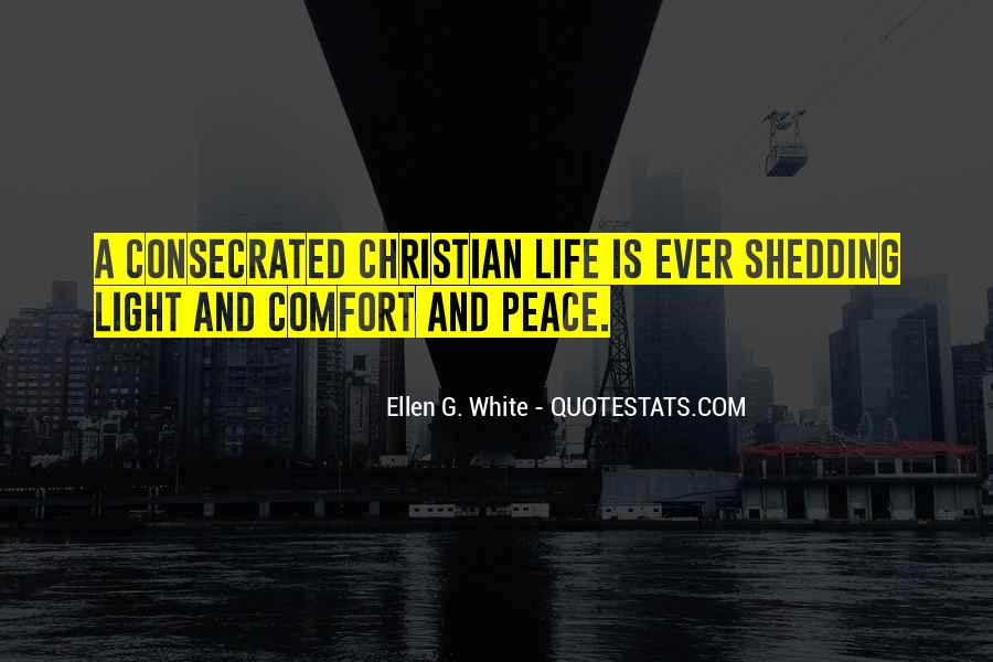 Quotes About Comfort And Peace #106862