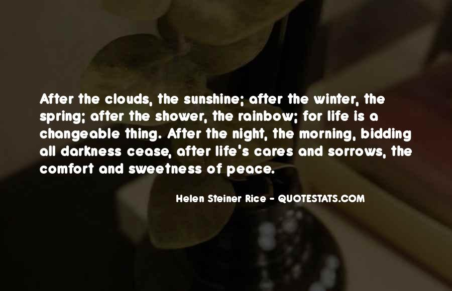 Quotes About Comfort And Peace #1194619