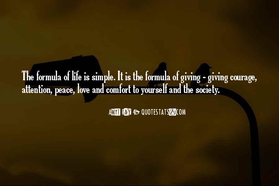 Quotes About Comfort And Peace #12123
