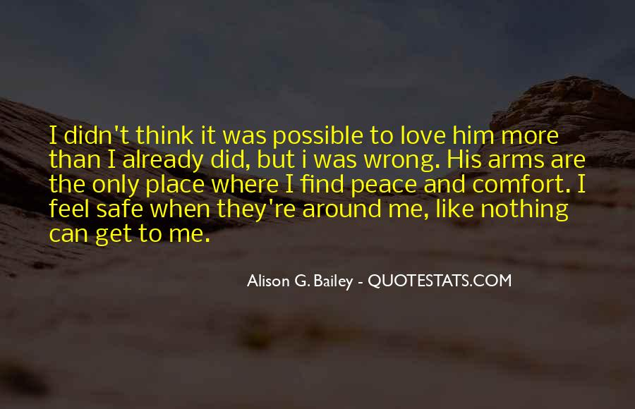 Quotes About Comfort And Peace #1213698