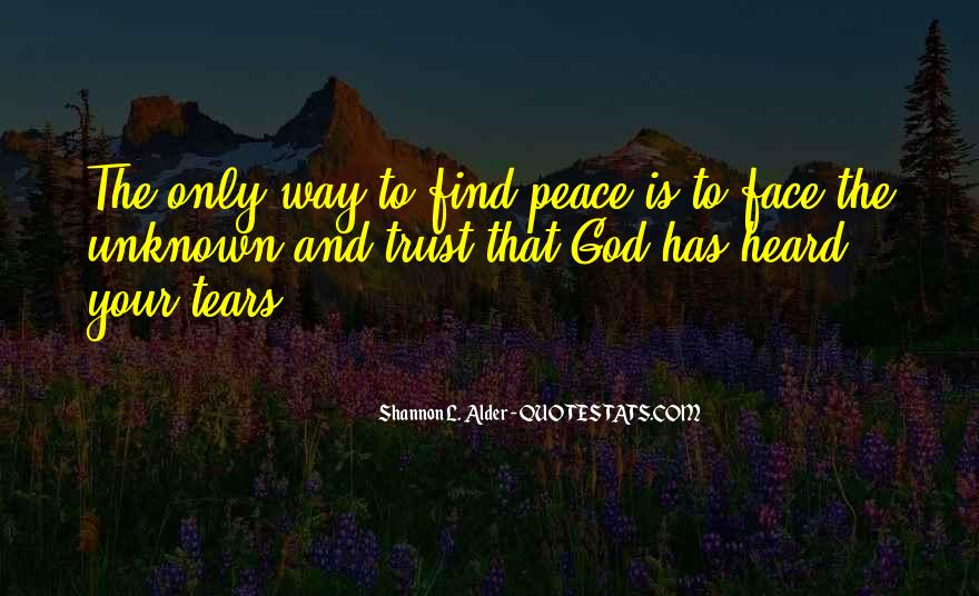 Quotes About Comfort And Peace #1358168