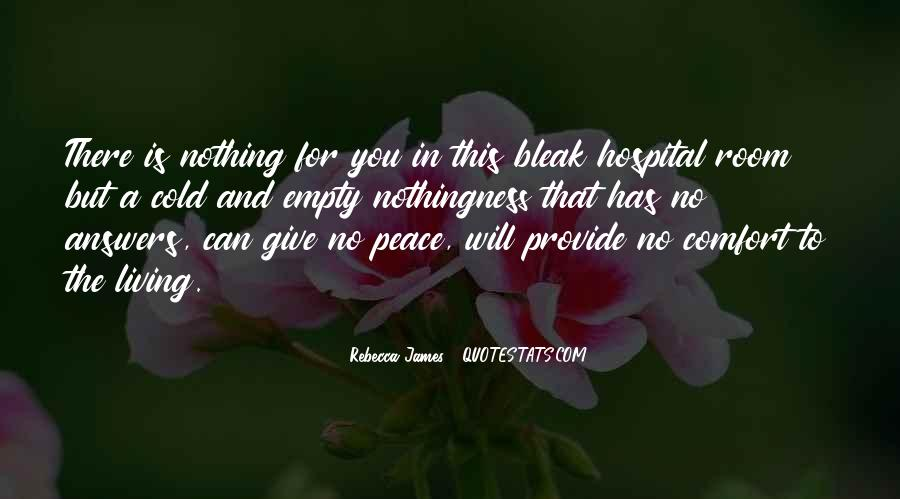 Quotes About Comfort And Peace #1407091