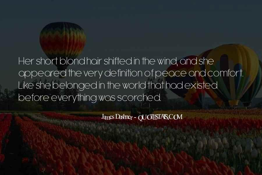 Quotes About Comfort And Peace #1413195