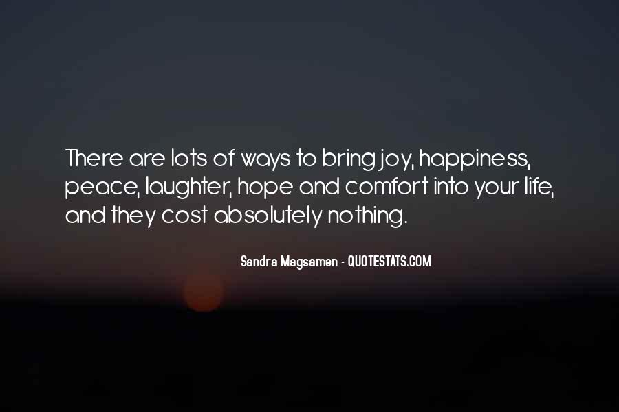 Quotes About Comfort And Peace #1458881