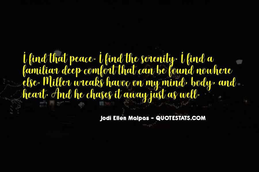 Quotes About Comfort And Peace #1547146