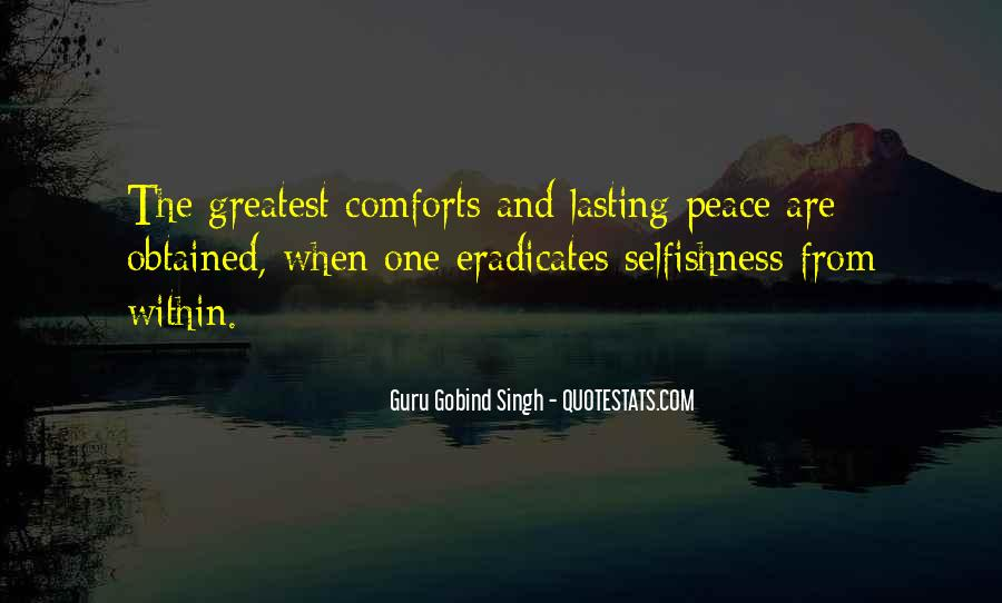 Quotes About Comfort And Peace #1583652
