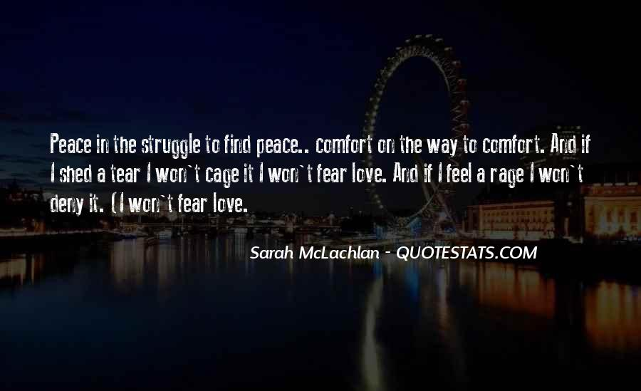 Quotes About Comfort And Peace #1669543