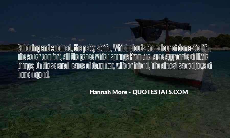 Quotes About Comfort And Peace #1728691