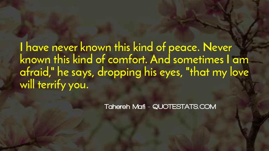 Quotes About Comfort And Peace #195866