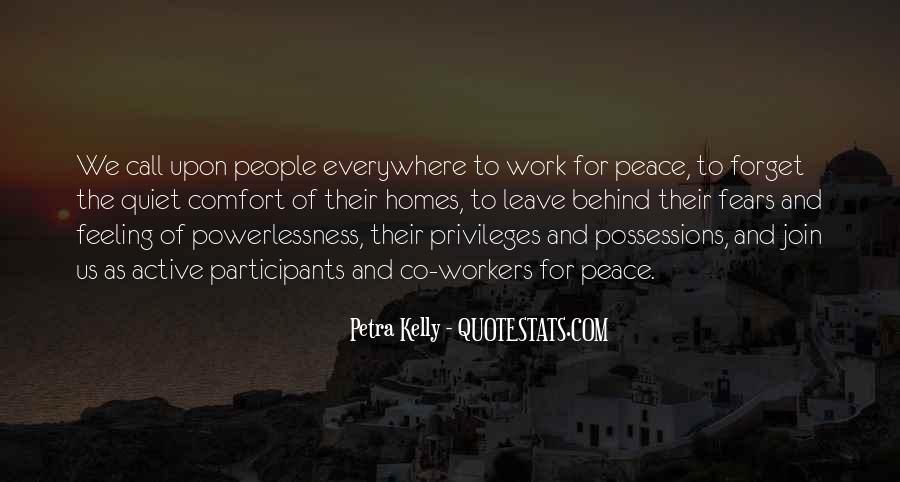 Quotes About Comfort And Peace #316371