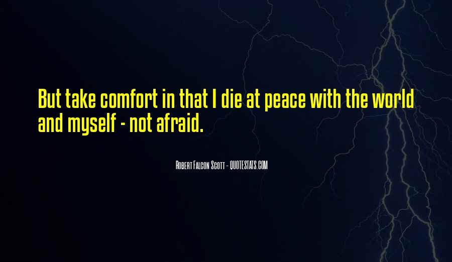 Quotes About Comfort And Peace #569686