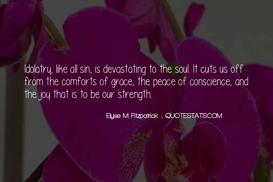 Quotes About Comfort And Peace #741467