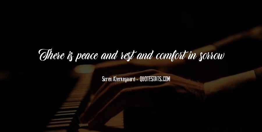 Quotes About Comfort And Peace #864957