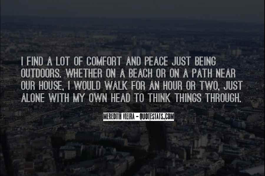 Quotes About Comfort And Peace #954927