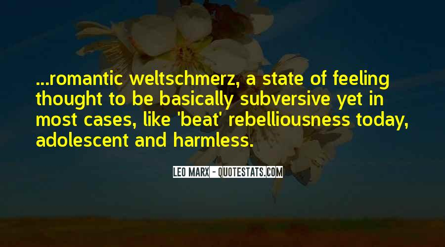 Quotes About Weltschmerz #1770388