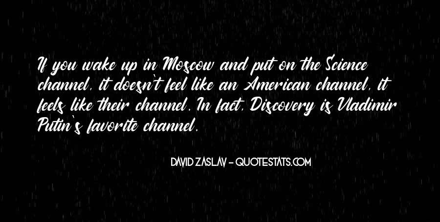 Quotes About Discovery Science #192577