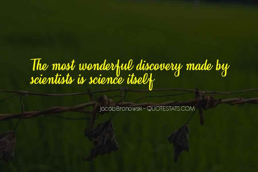 Quotes About Discovery Science #201812