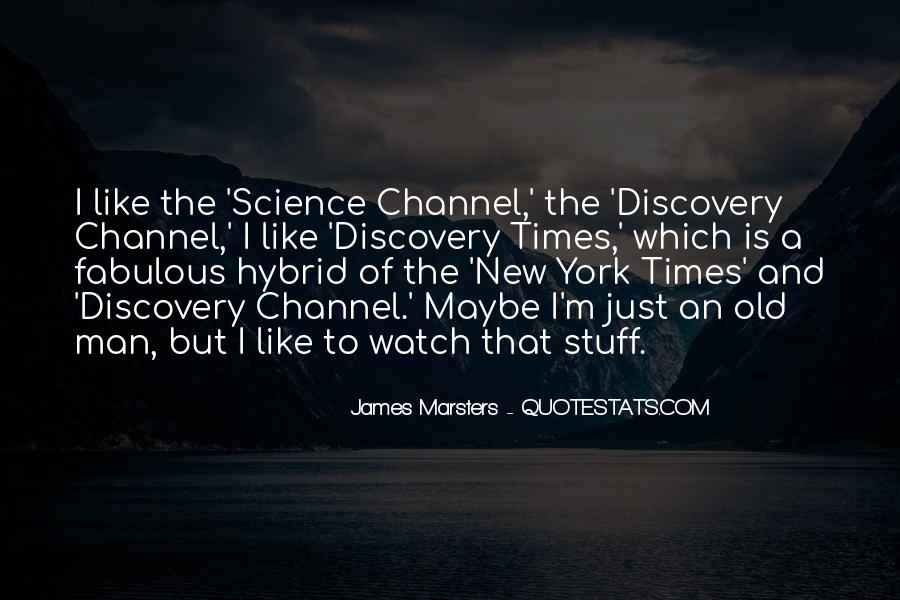 Quotes About Discovery Science #210141