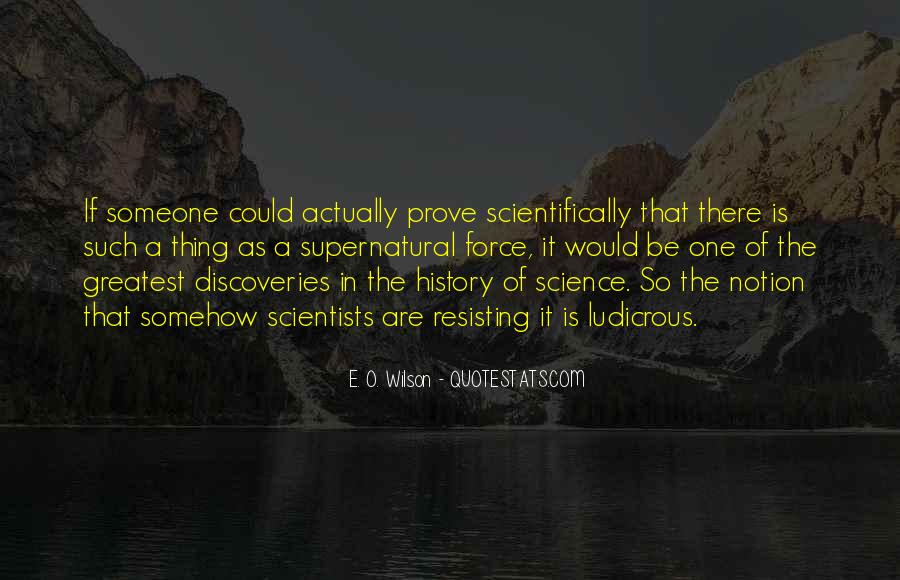 Quotes About Discovery Science #222966