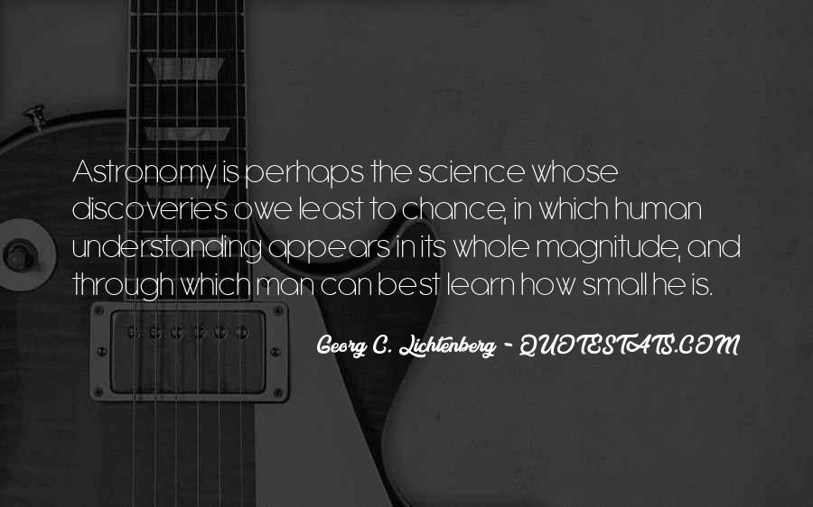 Quotes About Discovery Science #249881