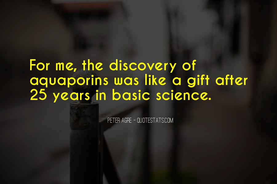 Quotes About Discovery Science #259580