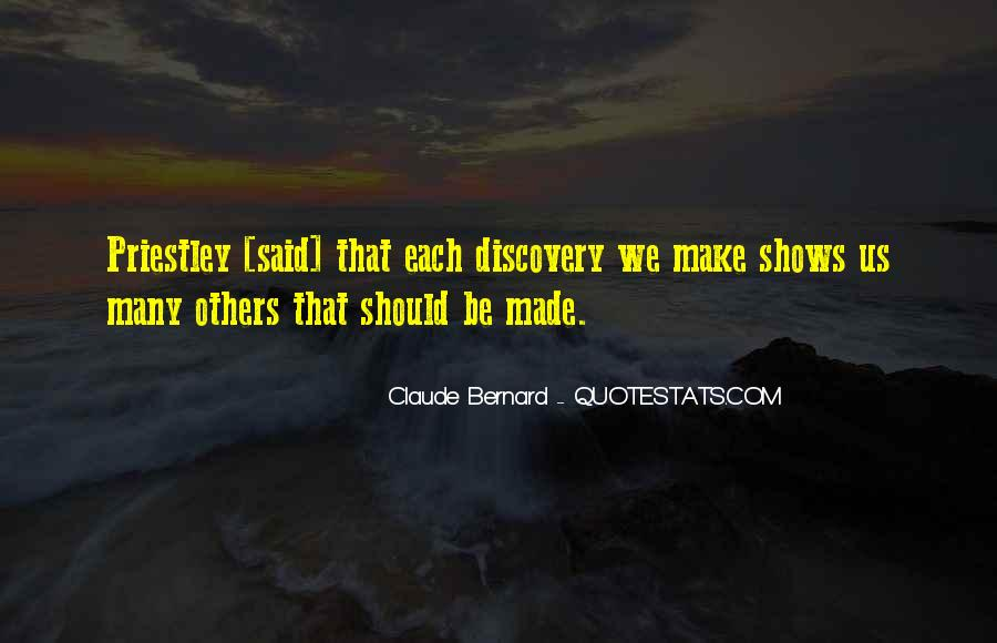 Quotes About Discovery Science #293014