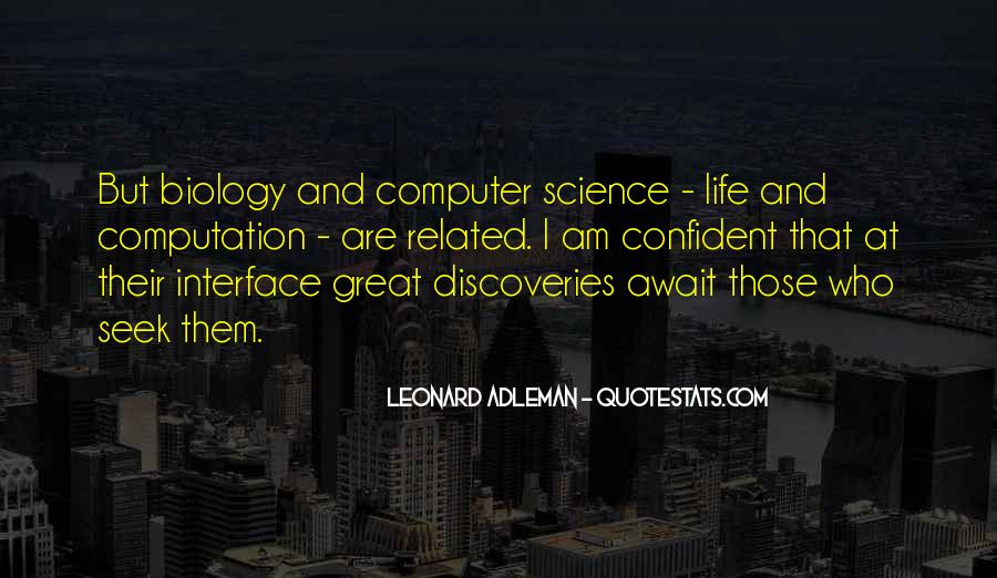 Quotes About Discovery Science #339338
