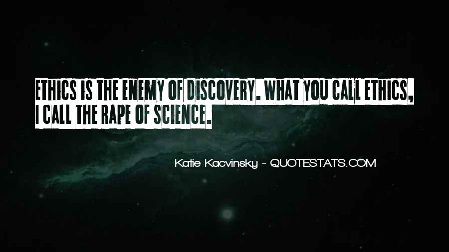 Quotes About Discovery Science #347229