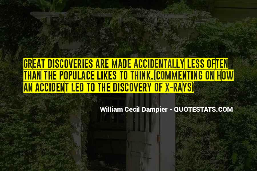 Quotes About Discovery Science #474406