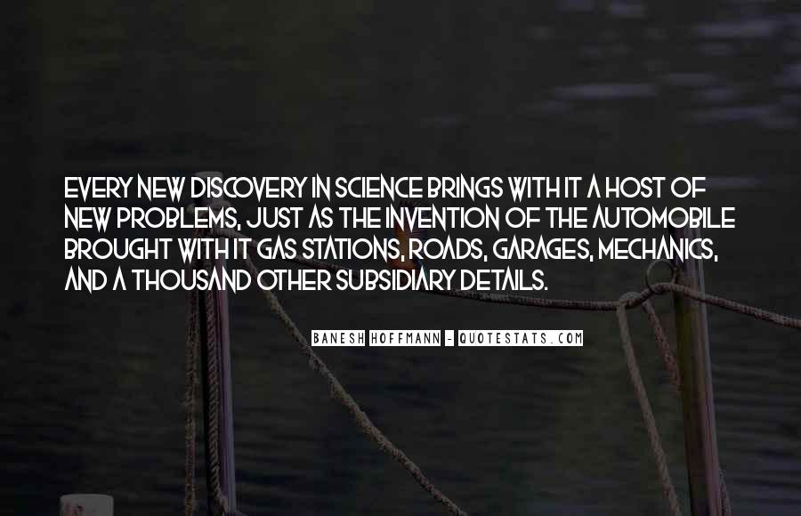 Quotes About Discovery Science #519525