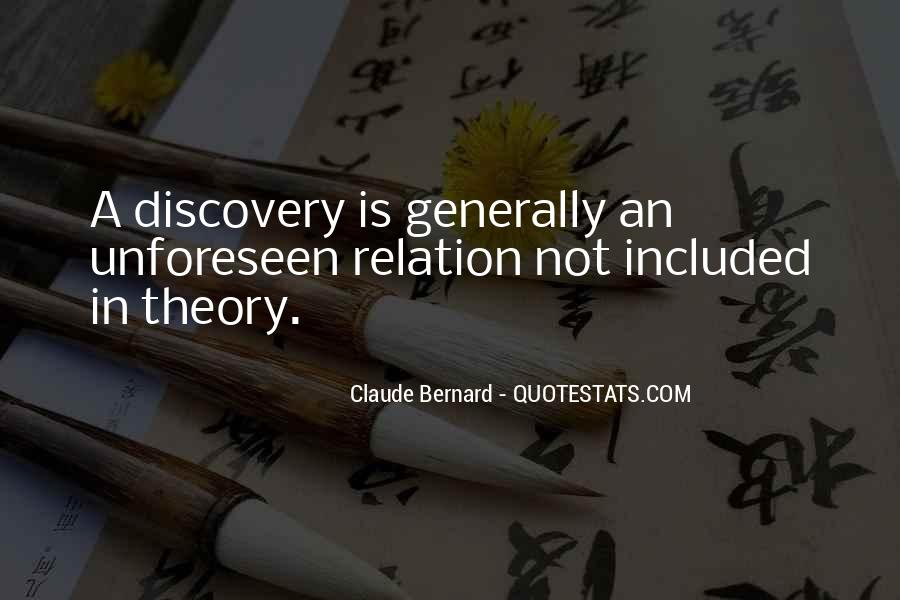 Quotes About Discovery Science #652309