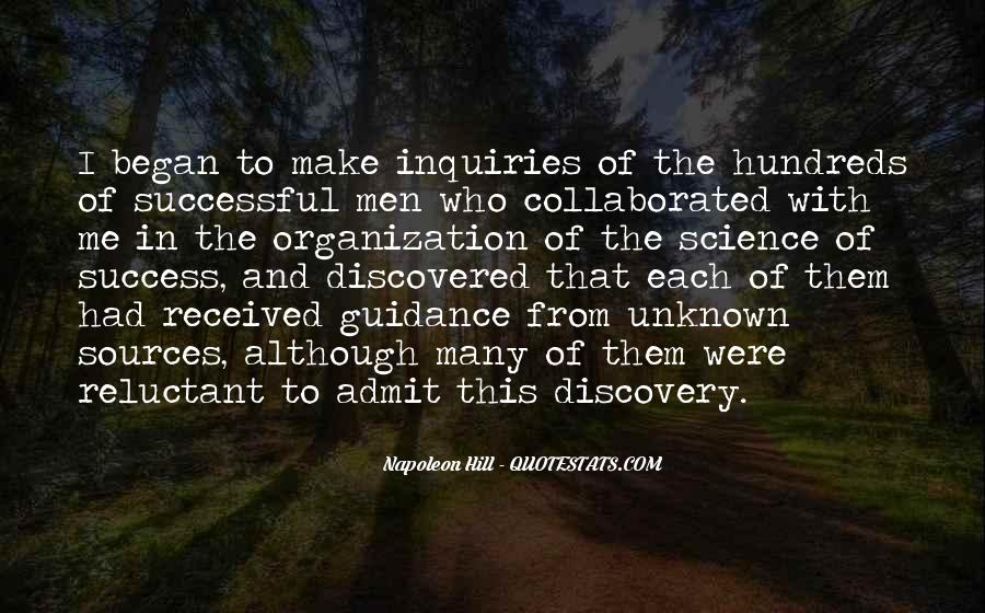 Quotes About Discovery Science #732861