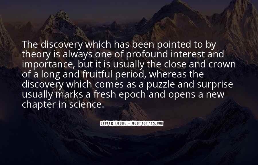 Quotes About Discovery Science #792295
