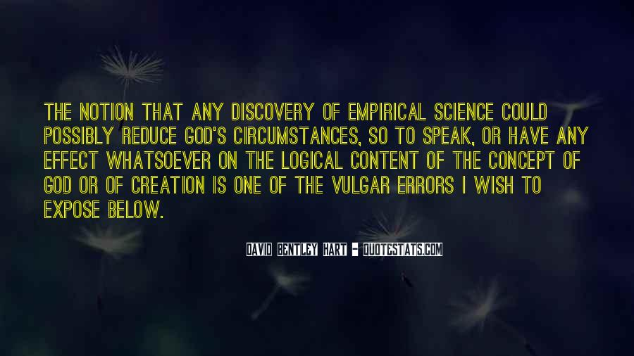Quotes About Discovery Science #796988