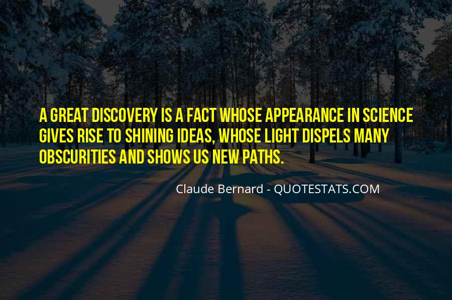 Quotes About Discovery Science #856102