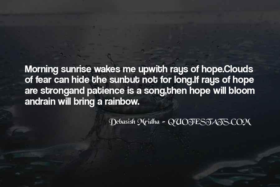 Quotes About Hope And Patience #1222284