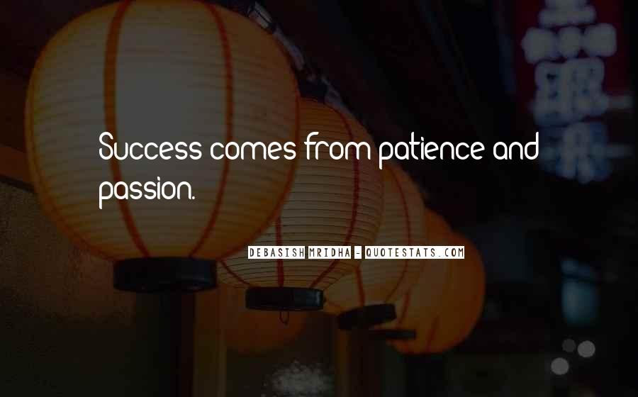 Quotes About Hope And Patience #1289332