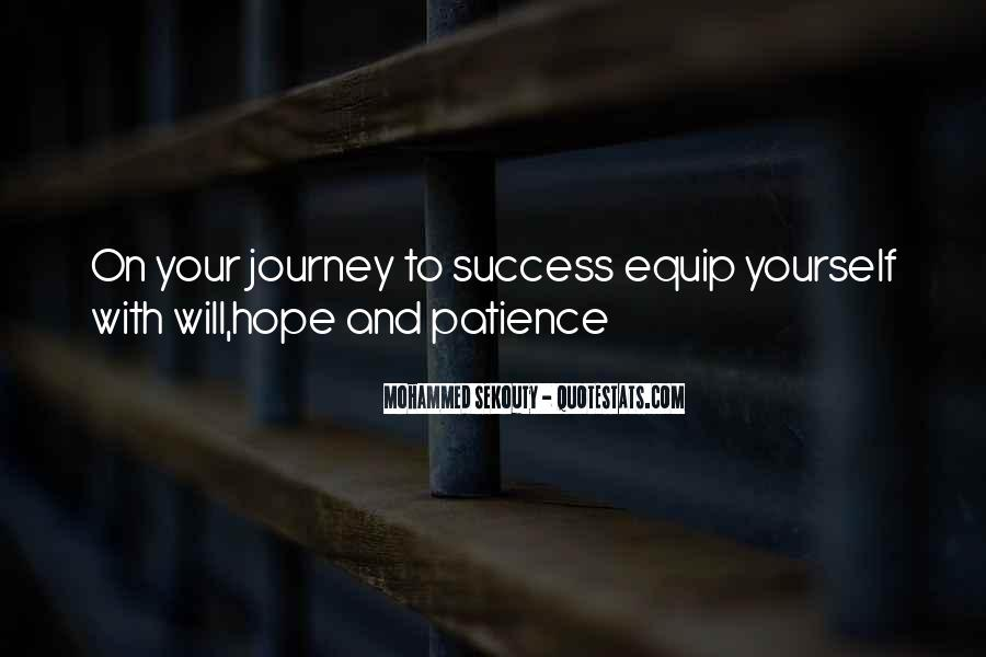 Quotes About Hope And Patience #1466238