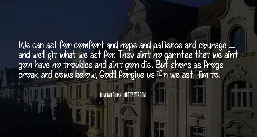 Quotes About Hope And Patience #1735444