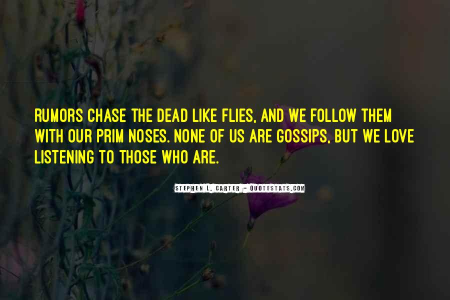 Quotes About Rumors And Gossip #1624889