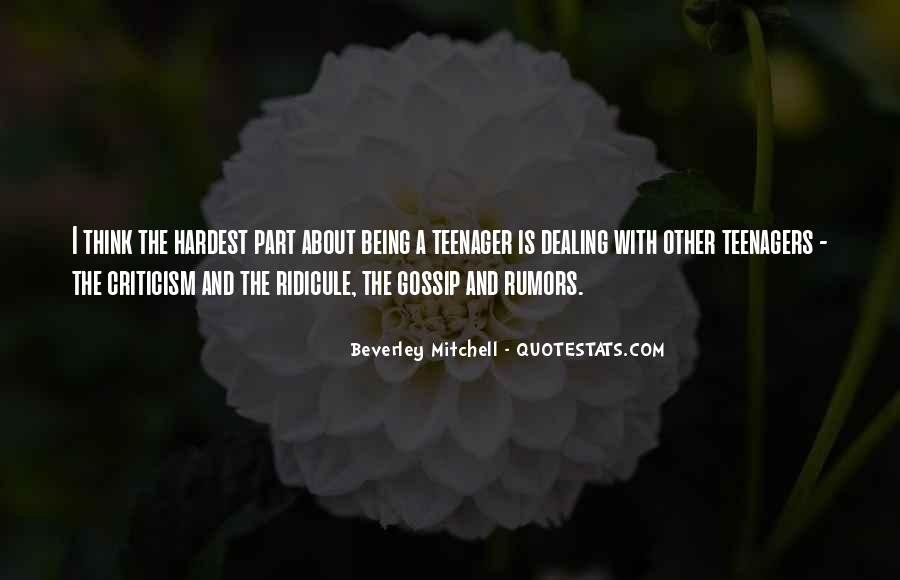 Quotes About Rumors And Gossip #1696452