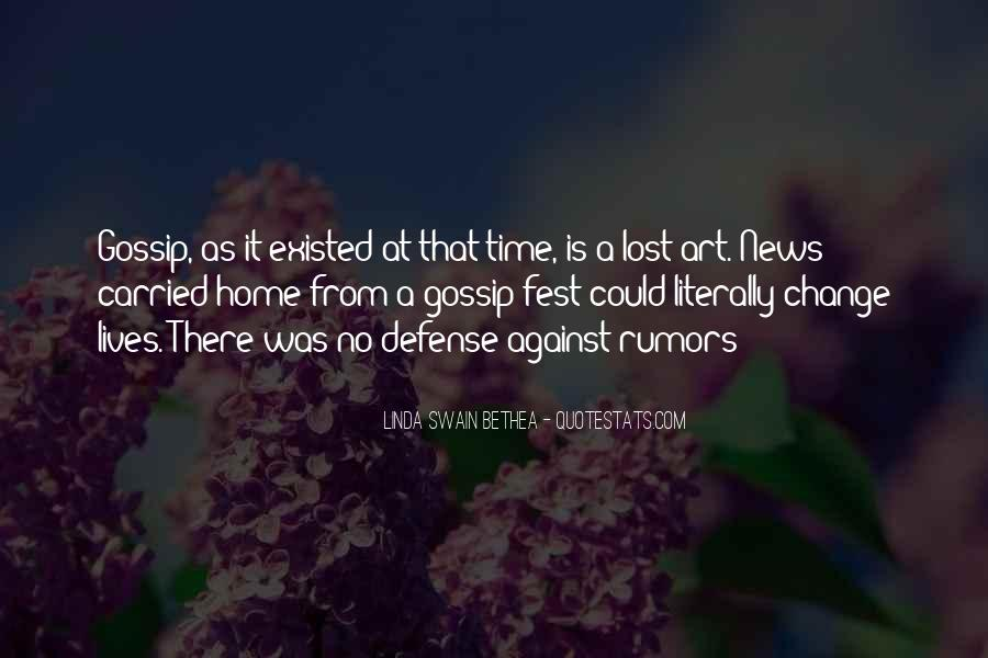 Quotes About Rumors And Gossip #1803830