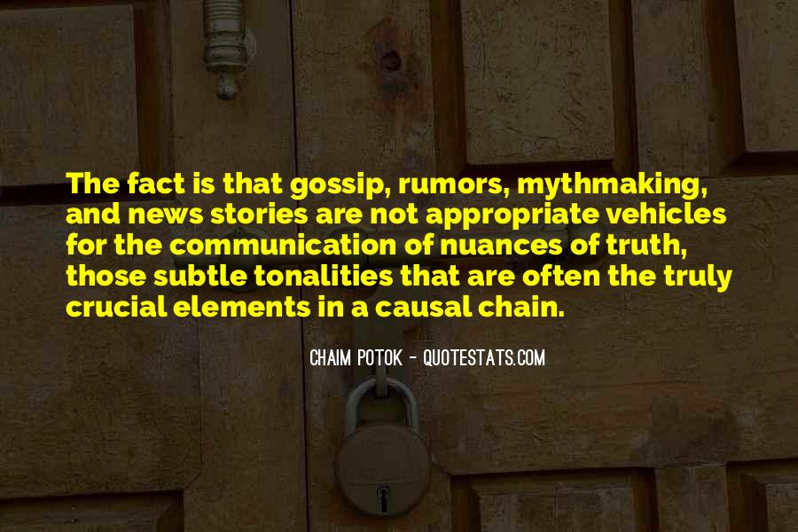 Quotes About Rumors And Gossip #333617