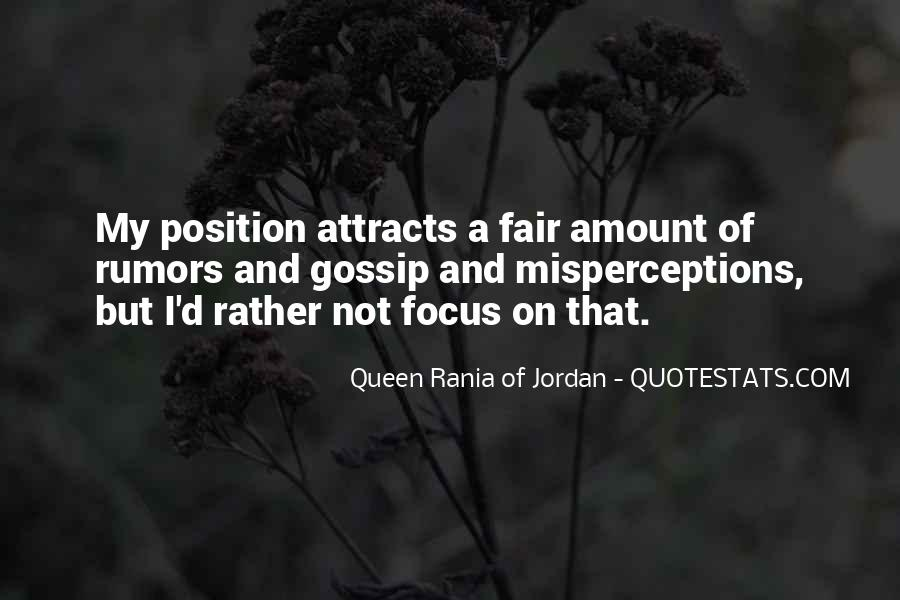 Quotes About Rumors And Gossip #466042