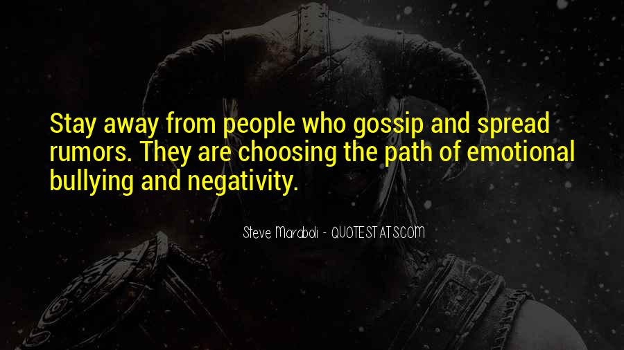 Quotes About Rumors And Gossip #854703